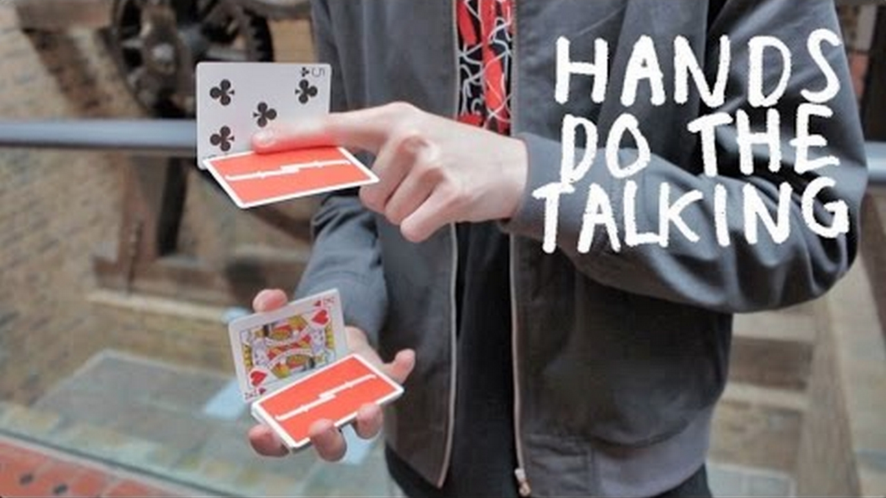 Crazy stick hands cardistry