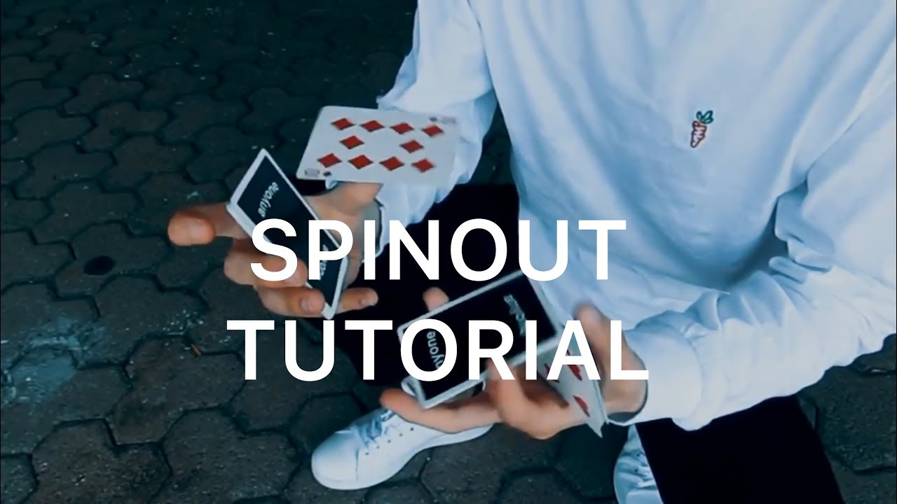 SPINOUT | CARDISTRY TUTORIAL